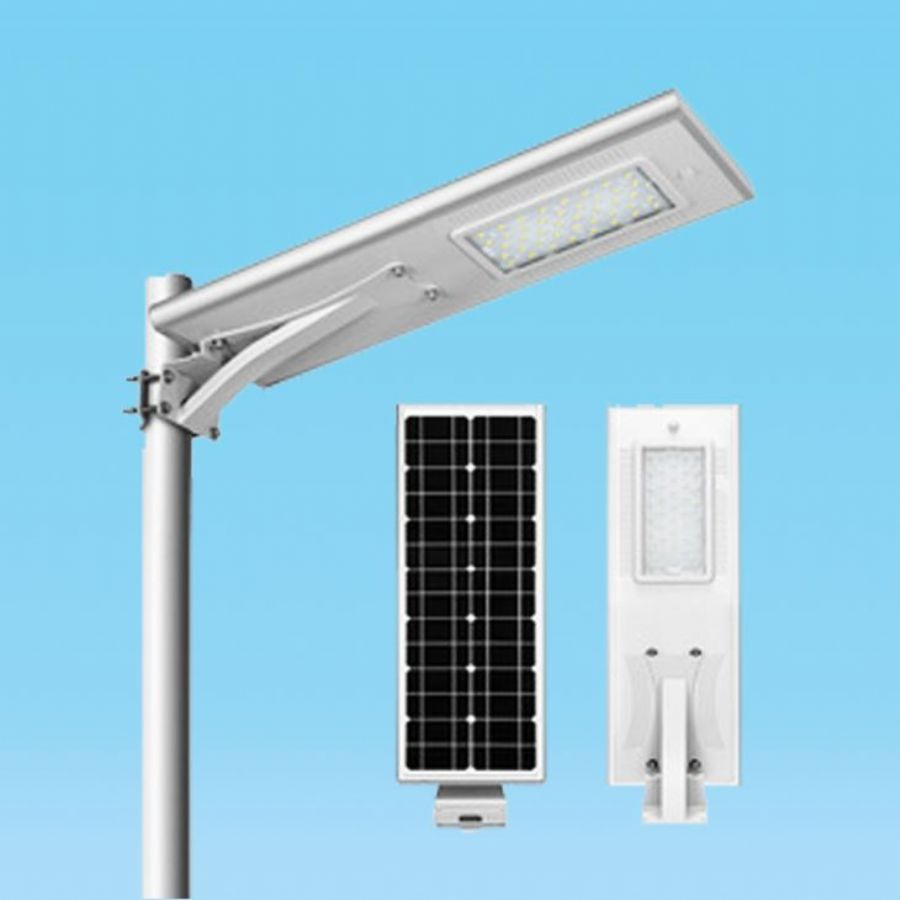 Integrated solar lig