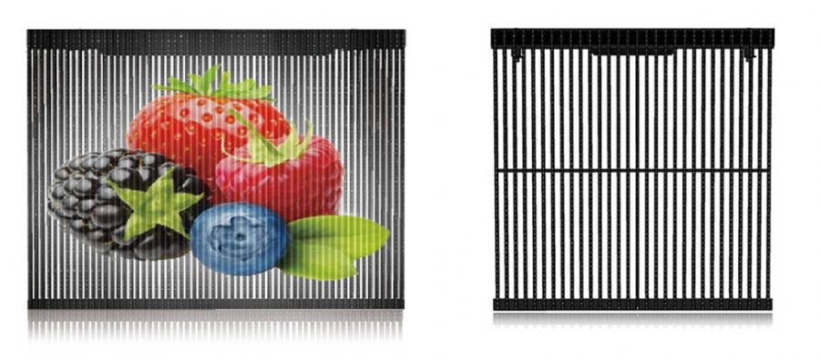LED GRILL DISPLAY