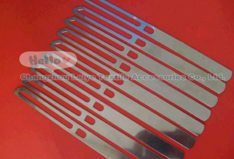 Closed Type Stainless Steel Drop Wire for Weaving Machine