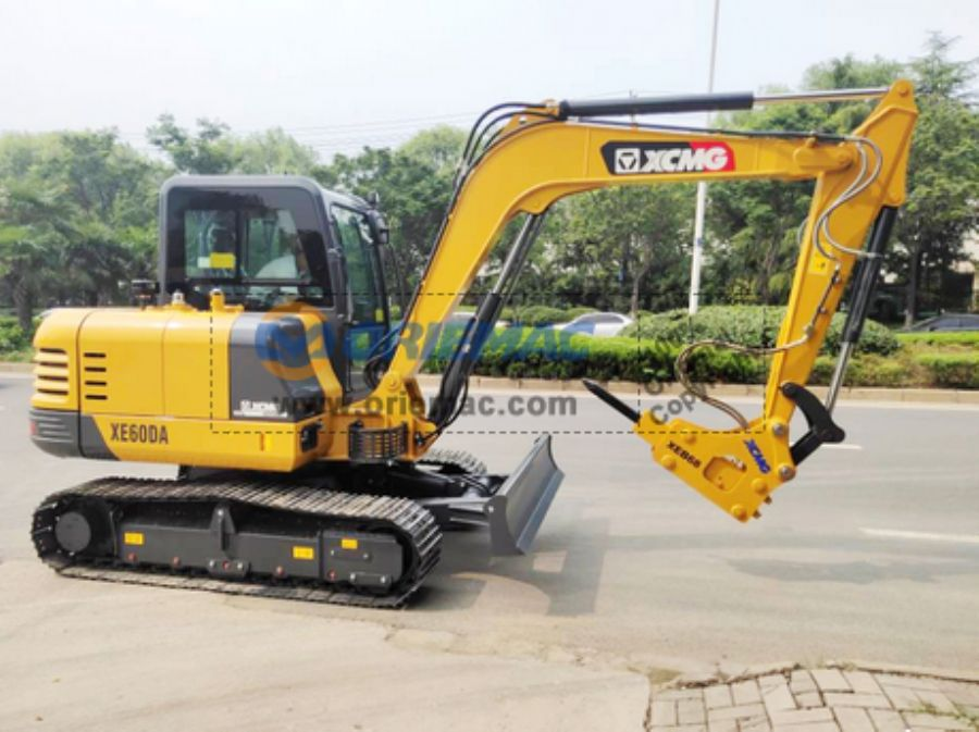 XCMG_XE60DA_Excavator