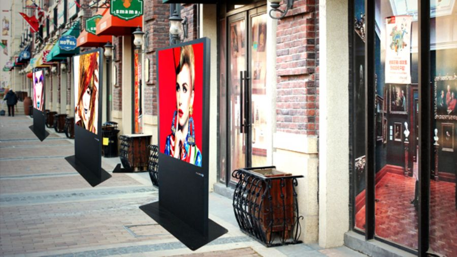 Outdoor LCD Signage