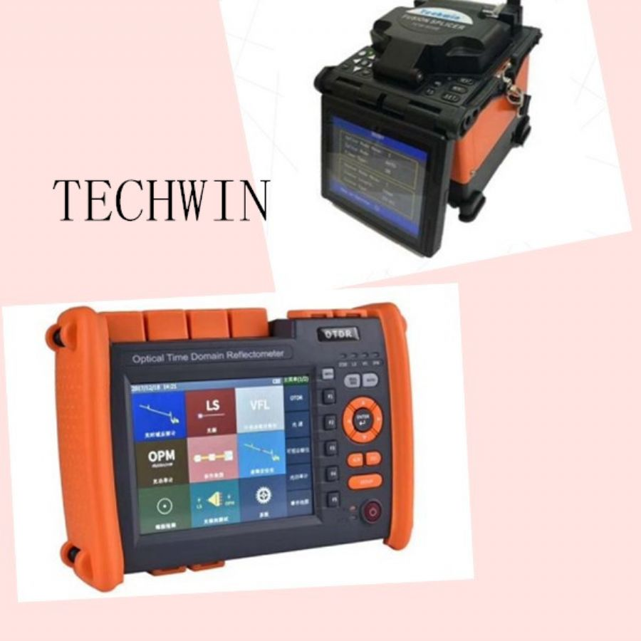 Techwin_Fusion_Splicer_and_OTDR_for_optic_fiber_cable_project