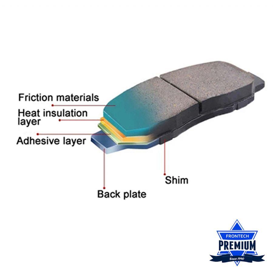 Frontech Brake Pad P
