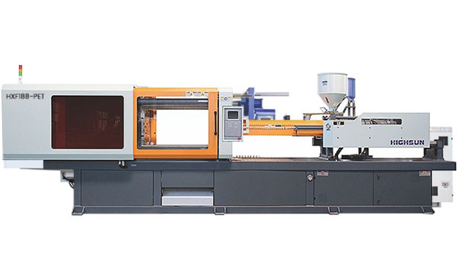 PET_injection_molding_machine