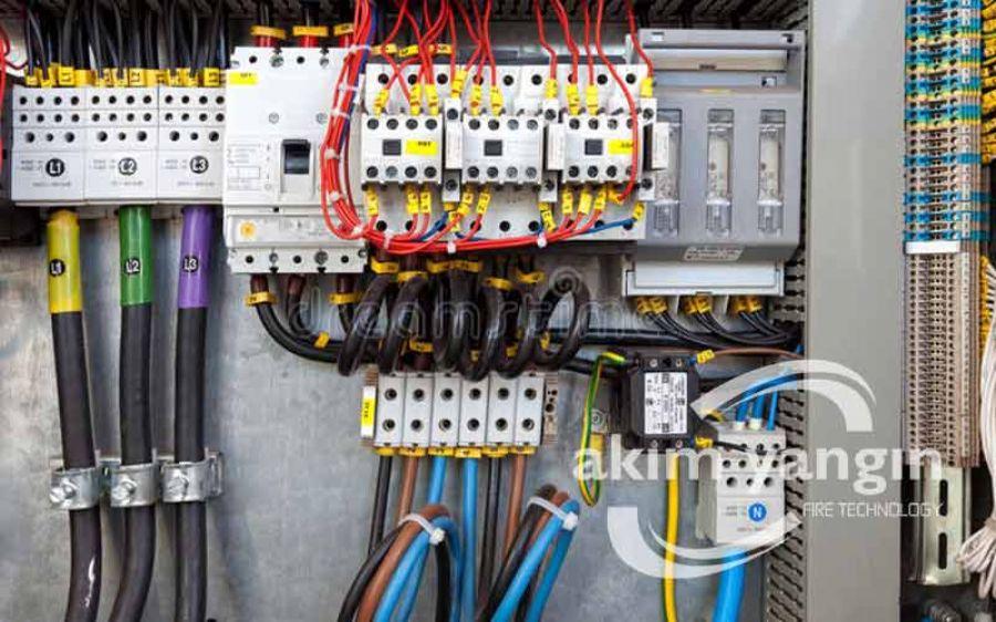 Elektrikli, Gazlı Yangın Söndürme Sistemleri