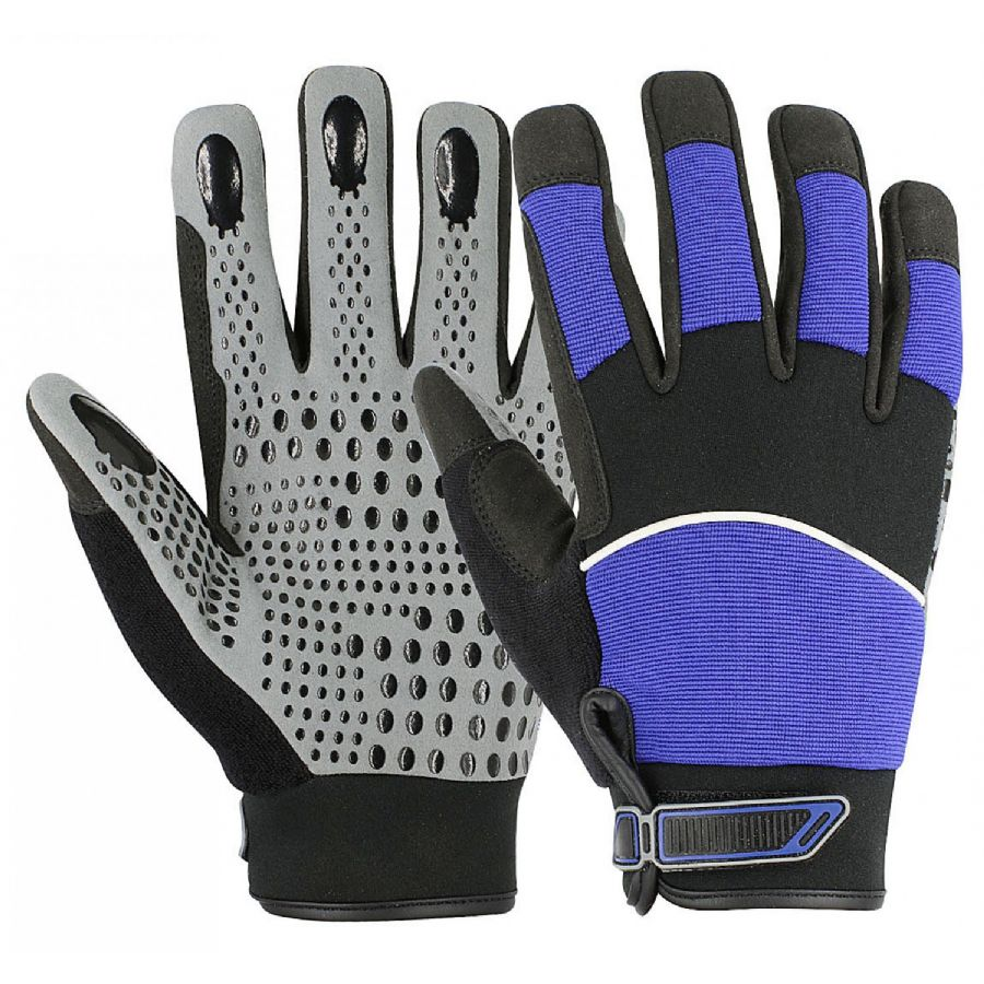 Gripper Gloves Leather Mechanic Gloves