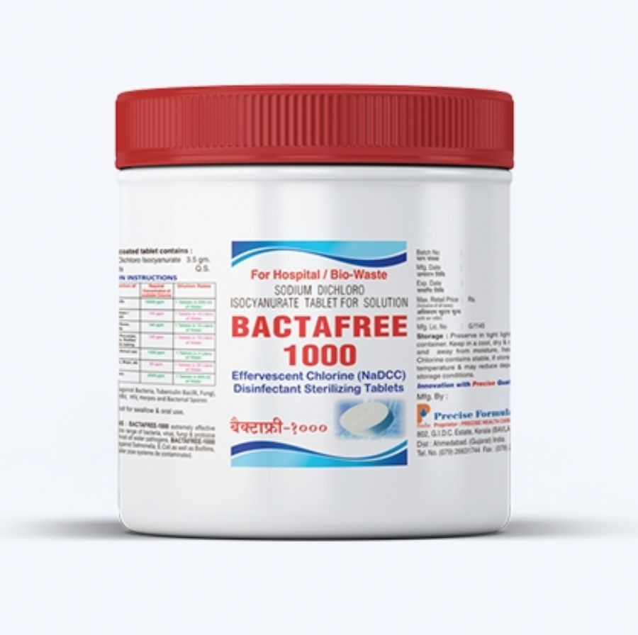 Bactafree Water Purification Chlorine Tablets