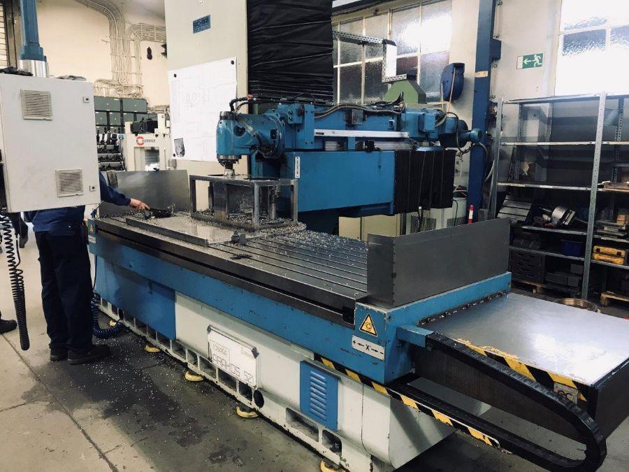 CNC Bed Freze Makine