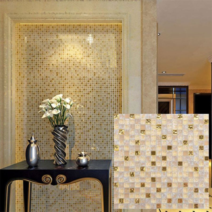 Beige Glass Mosaic T