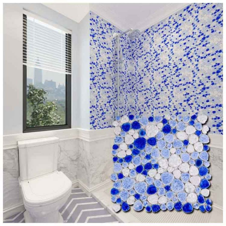 Blue Marble Mosaic T