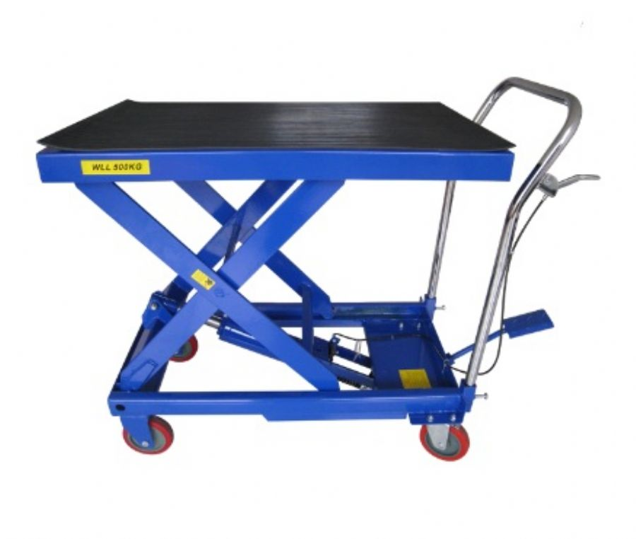 Hydraulic Lift Table Carts
