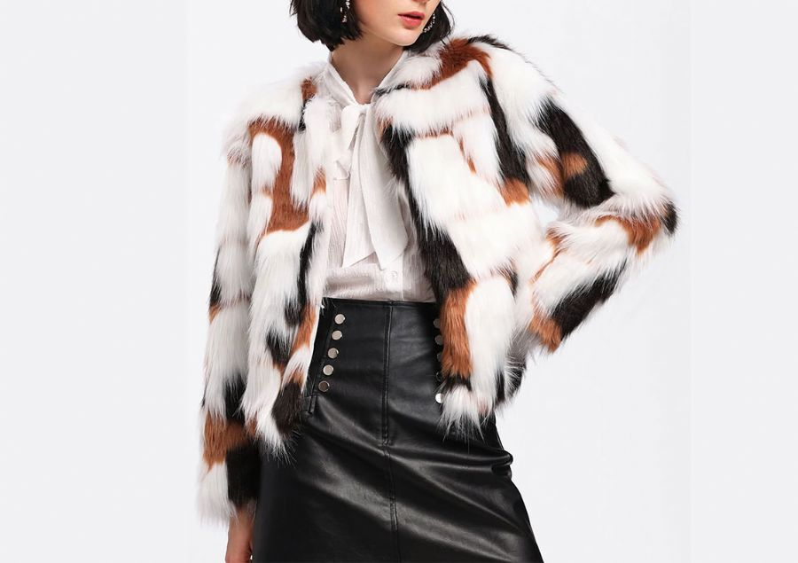 faux fur fabric manu
