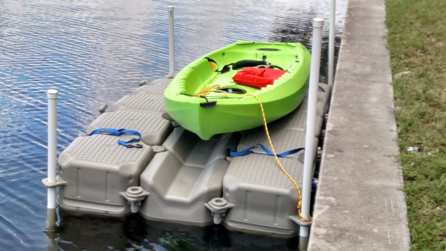 HiSea Kayak Dock in