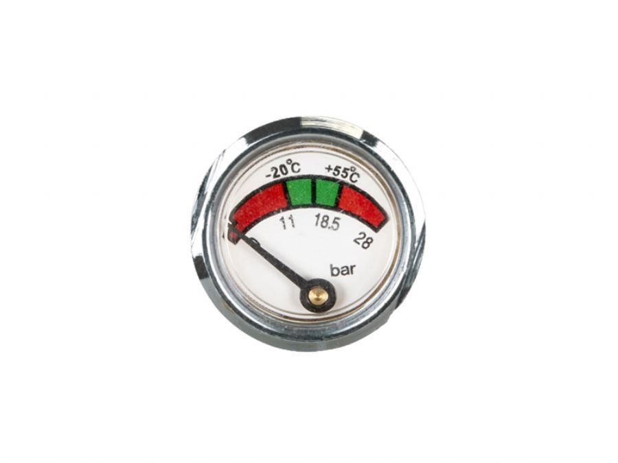 Gauge for fire extinguisher