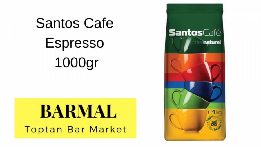 Santos_Cafe_Espresso_Cekirdek_Kahve