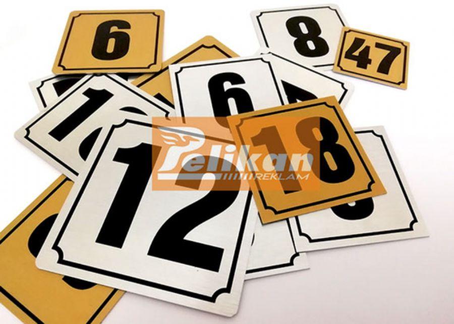 Masa numarat�rleri