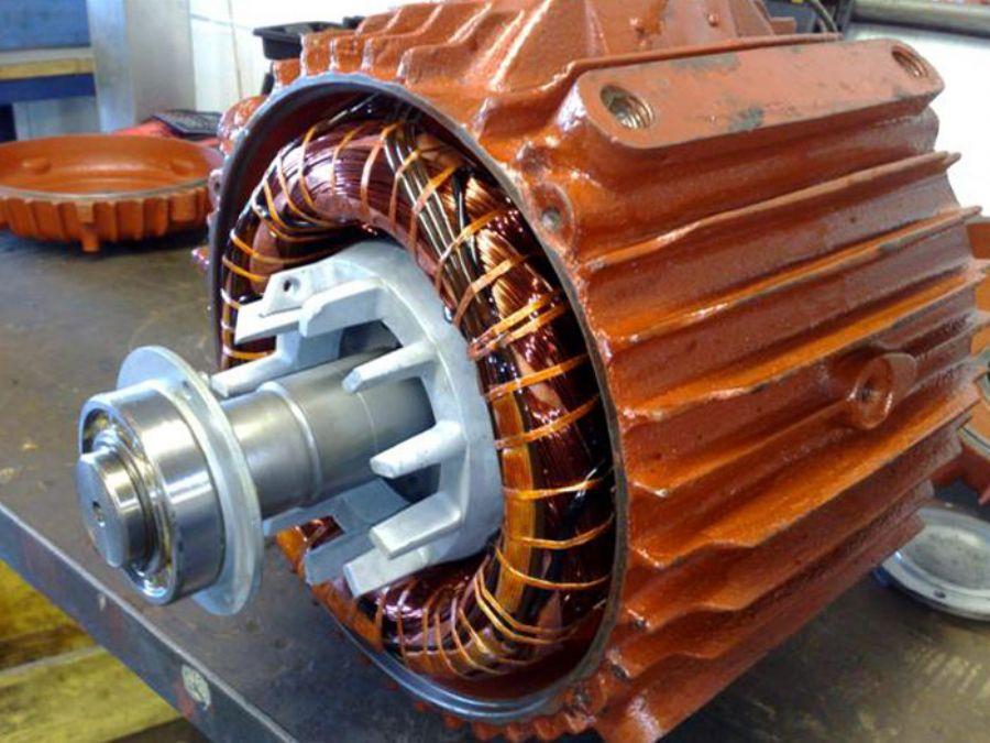 Elektrik motorlar�n bobinaj