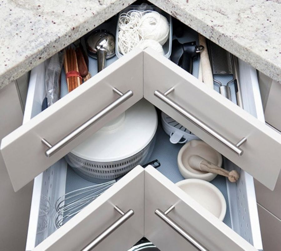 Kitchen Storage Fitting Solutions