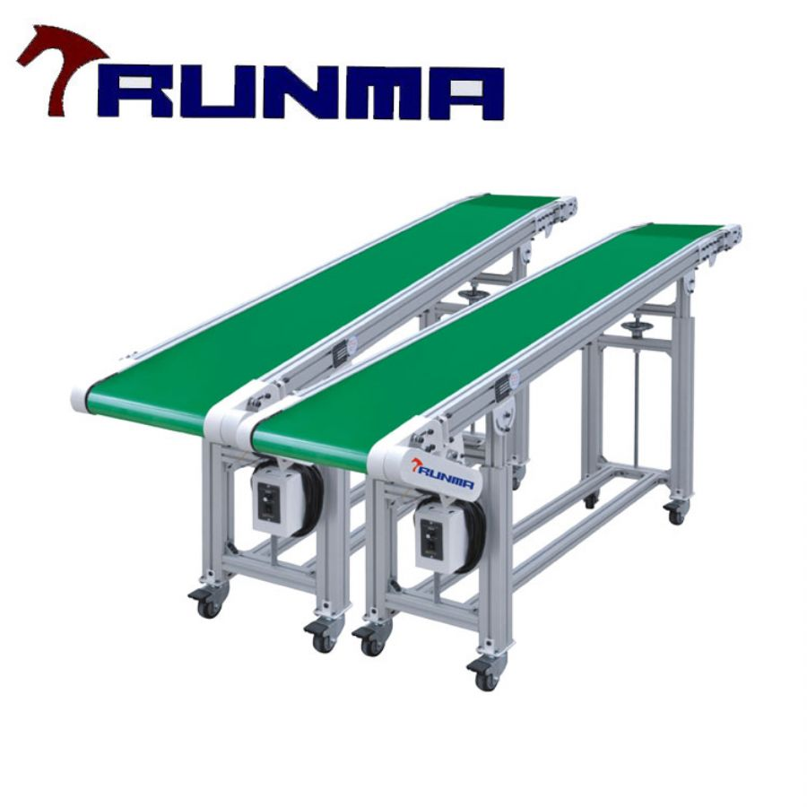 Custom Assembly Line Belt Conveyor System