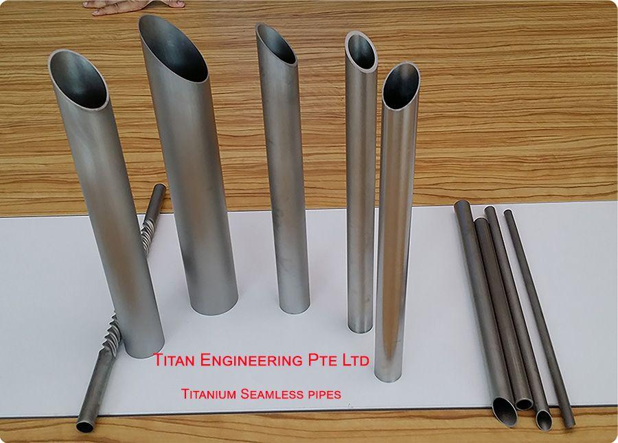 Titanium Tubes, Pipe