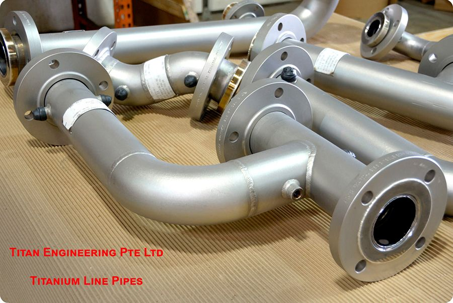 TITANIUM LINE PIPES