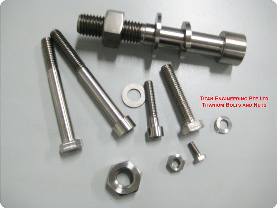 TITANIUM SCREWS, NUT