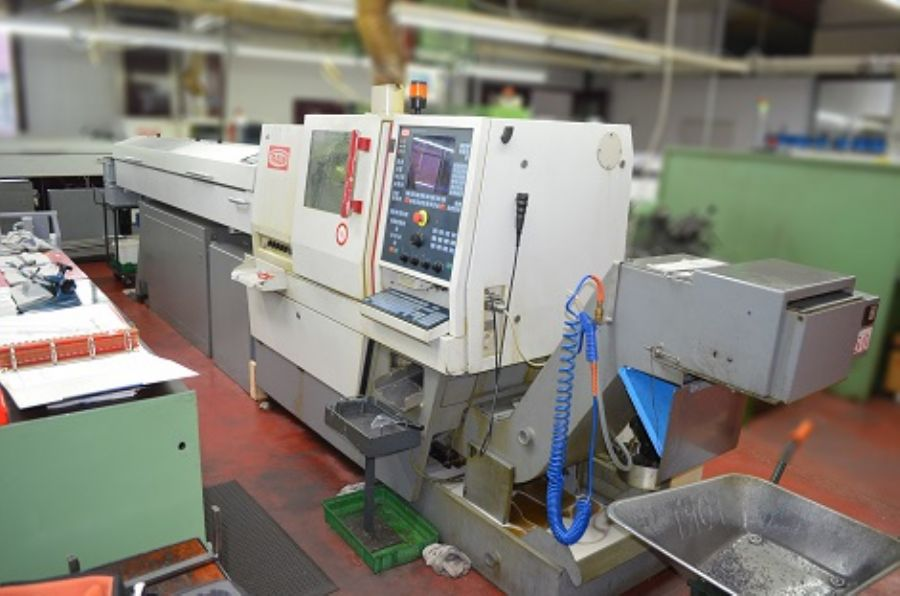 CNC Otomat Torna Tez