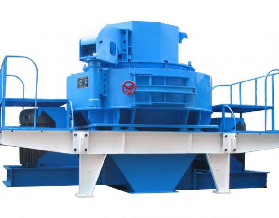 Vertical axis sand making machine