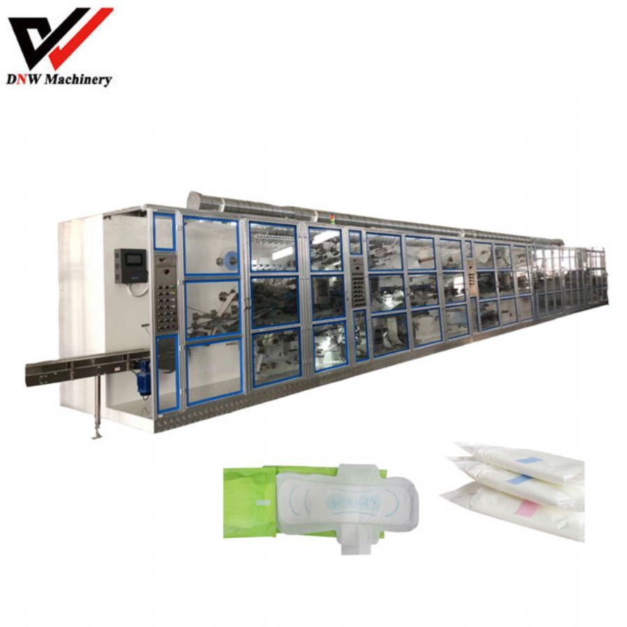 Economic type lady sanitary pad making machine