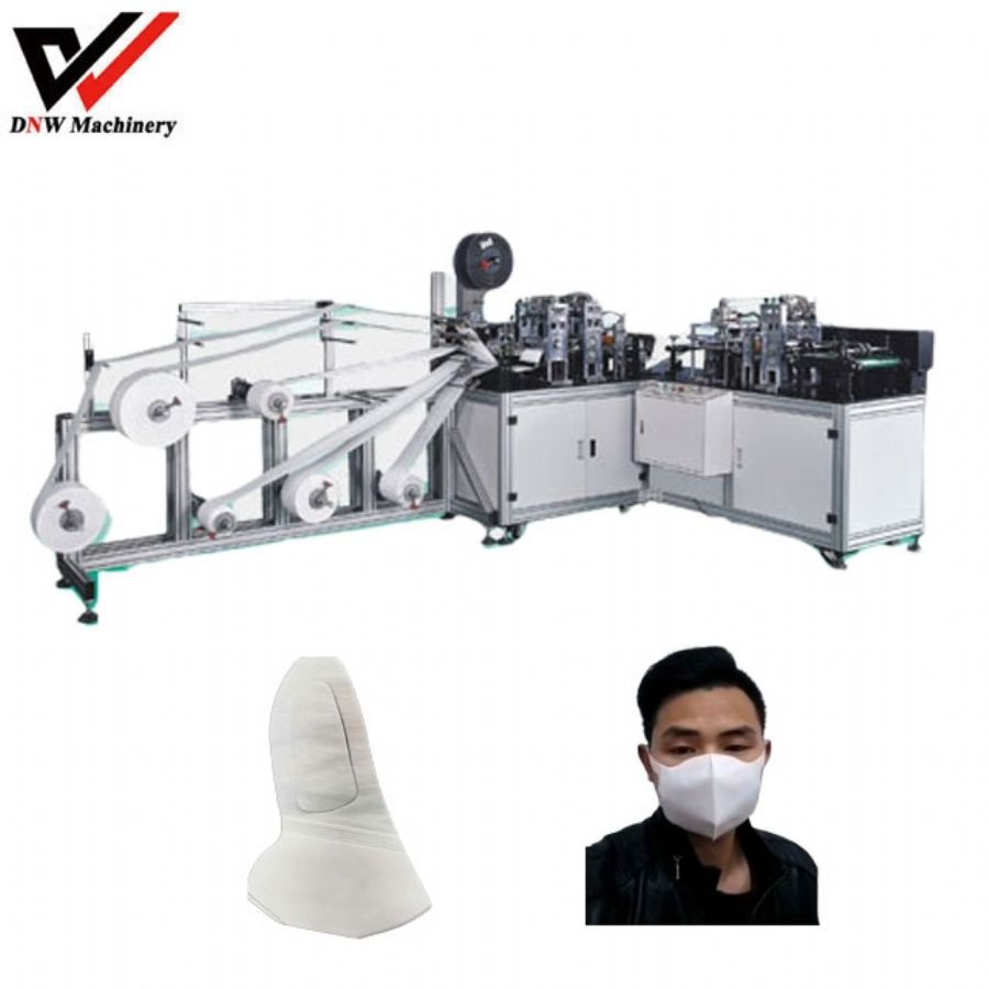 disposable stereoscopic face mask machine