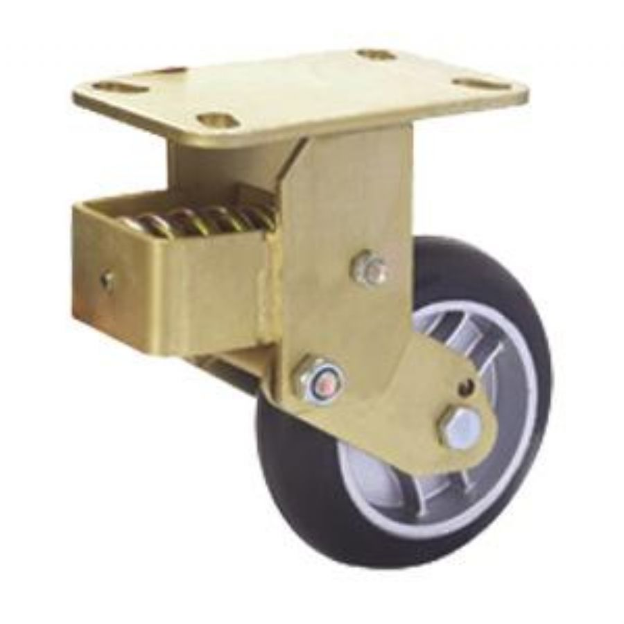 Cost Shock Absorbing Casters
