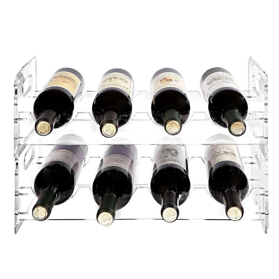 Acrylic Wine Display Rack