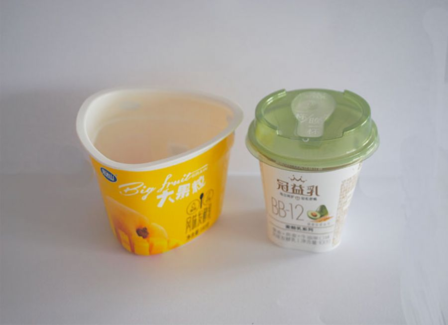 Yogurt cup blister processing China