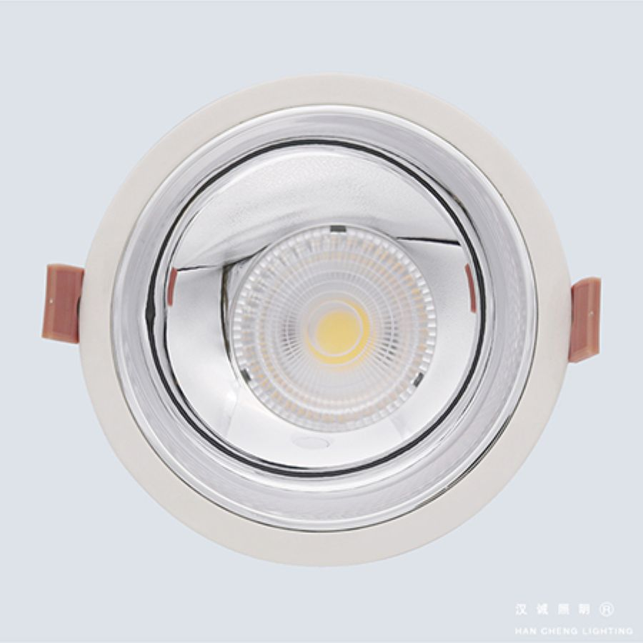 Painted downlight