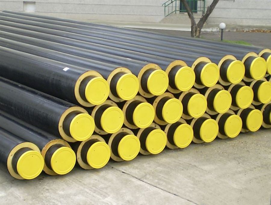 Pre-insulated Steel