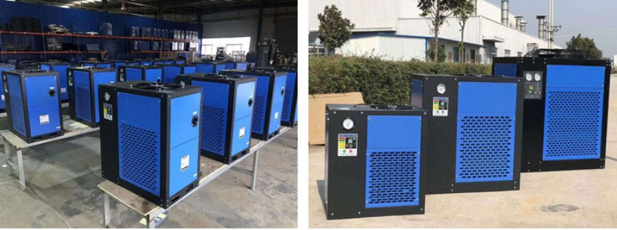 Environmental protection refrigerant dryer