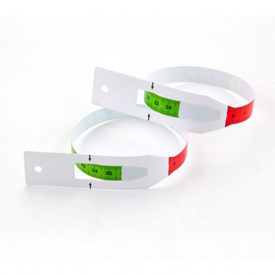 Clinic Pediatric MUAC Paper Tape Measure