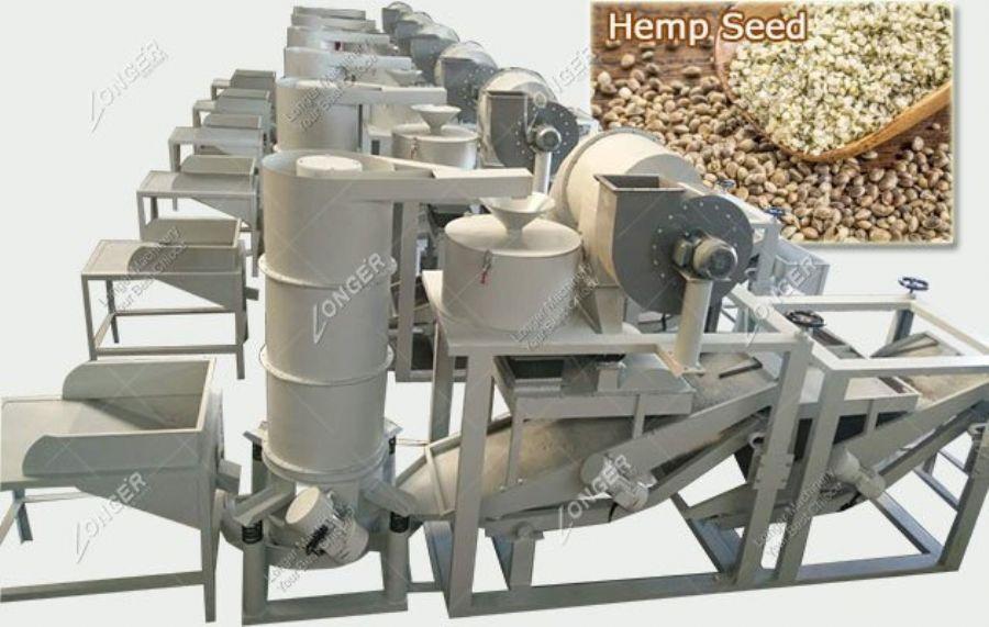 Hemp Seed Dehulling
