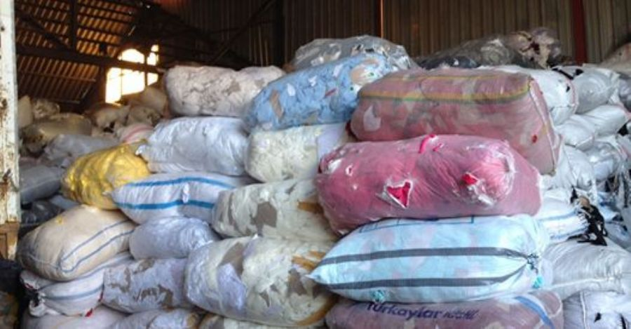Tekstil Pamuk Kumaş Atığı Firesi