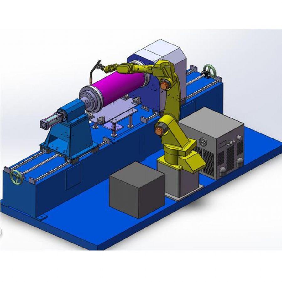 Robot Welding Machin