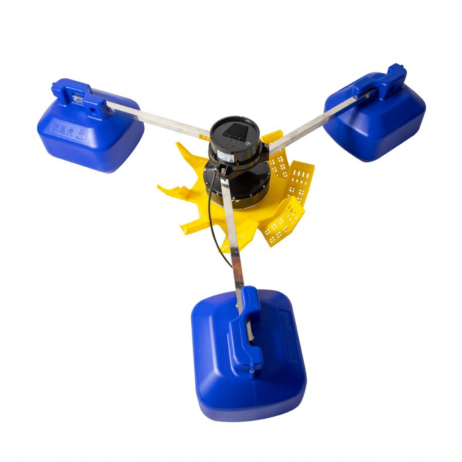 Fish pond impeller type permanent magnet variable frequency aerator