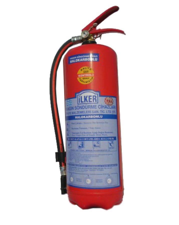 Halokarbonlu Yangın Söndürücü