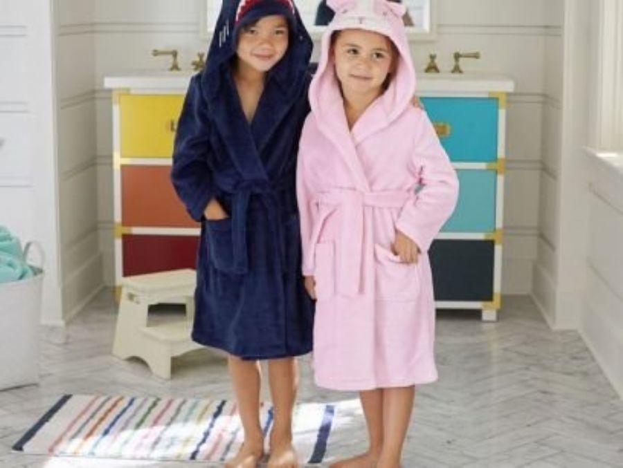 Bathrobes for kids
