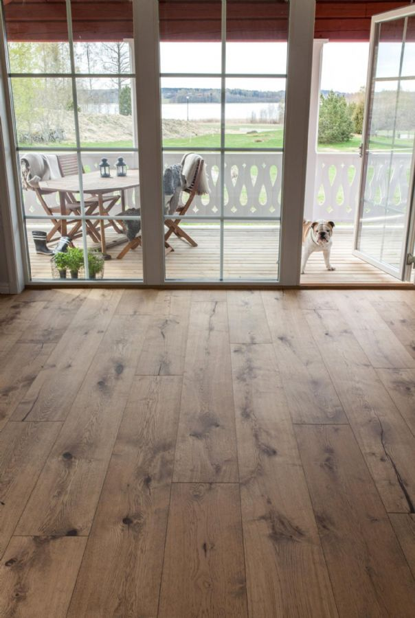Wide planks of Cured Wood