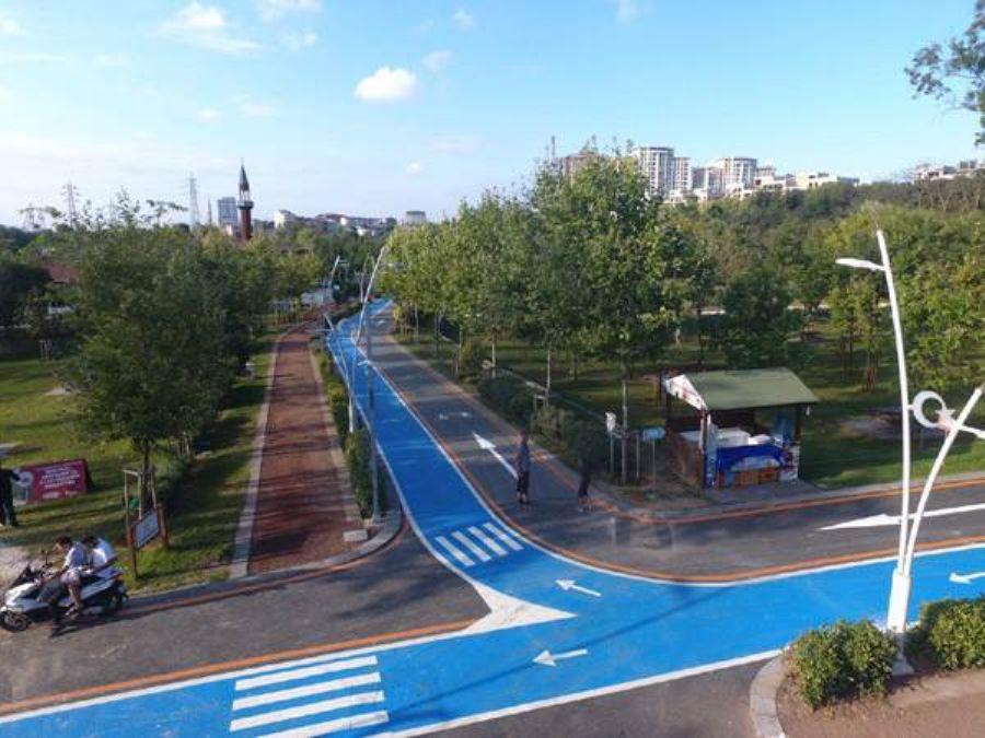 Bisiklet Yolu Çizgi Yapımı