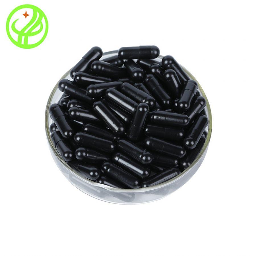 black HPMC capsule