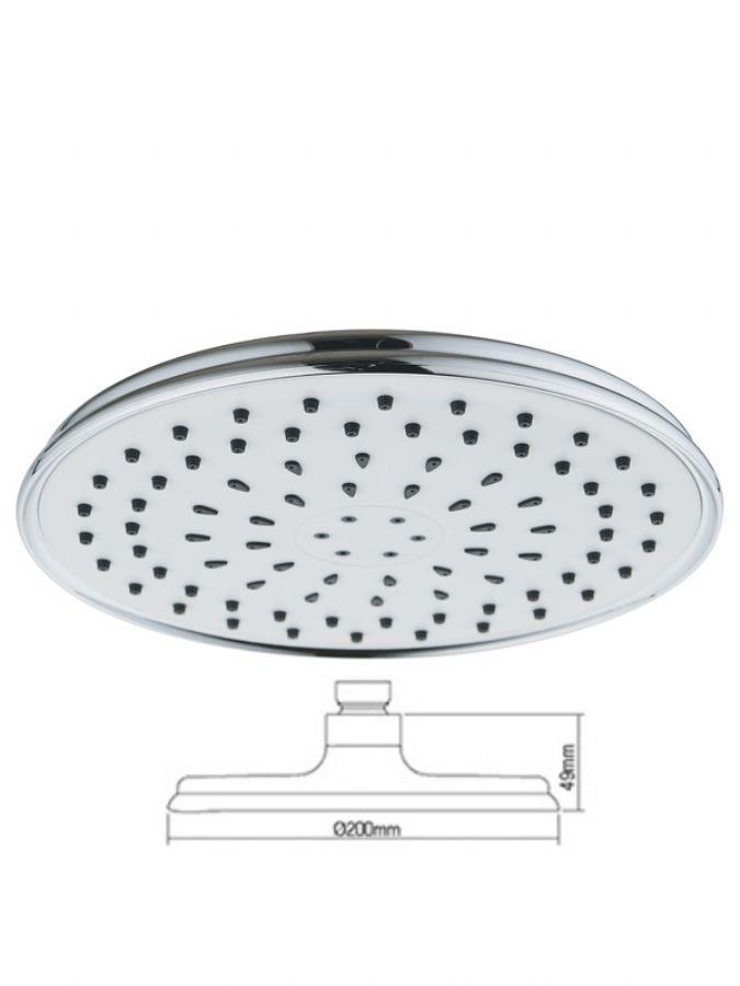 Clean overhead shower head C-308