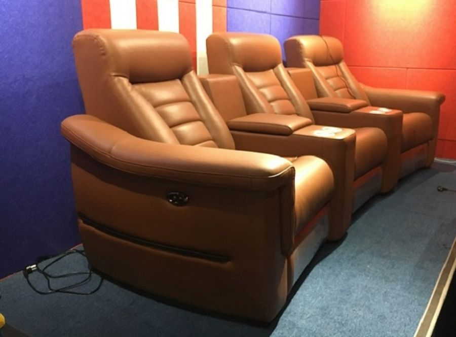 Luxury home theater recliners LS-876