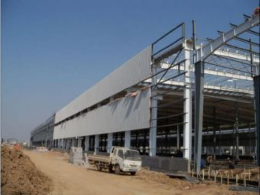 Steel structure buil