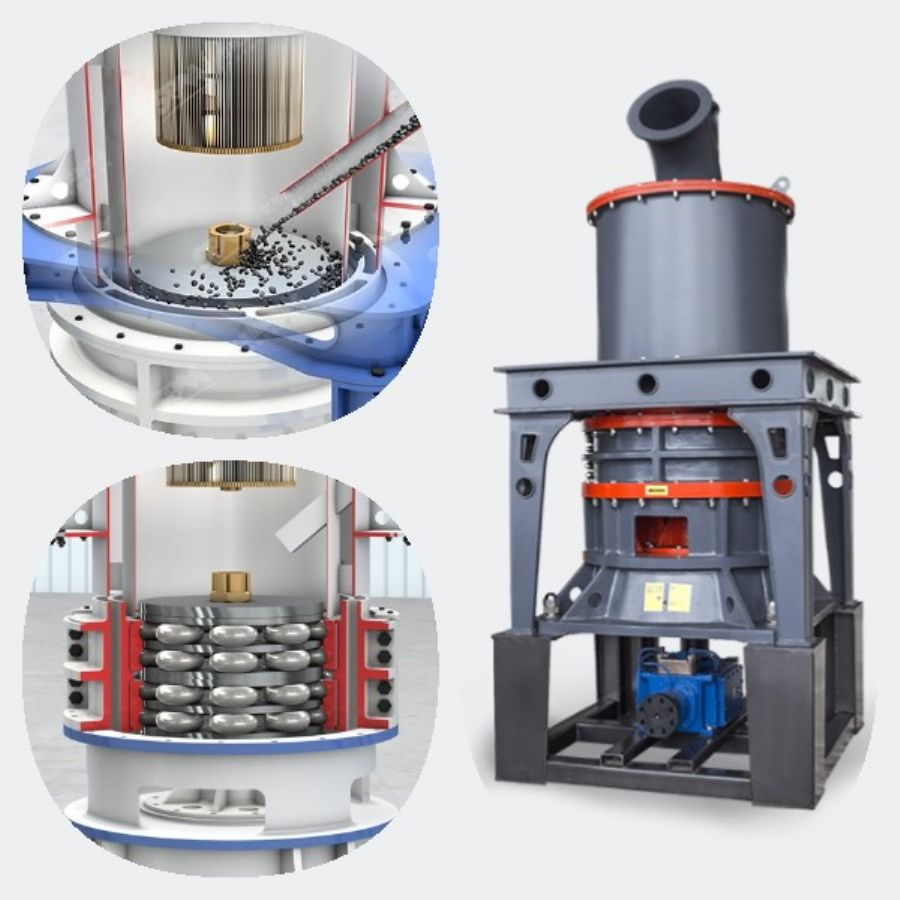 Micro powder grinding mill stone powder making machine